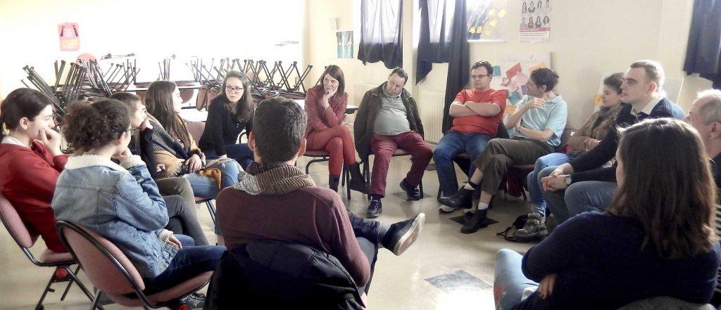 Rencontre résidents du Château blanc et lycéennes Alfred Manessier - 2017-2018